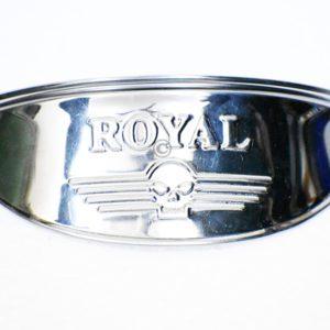 Chrome head light lamp shade For Royal enfield
