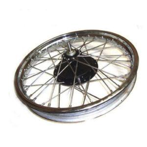Royal enfield vintage rear half width steel wheel rim brake assly complete