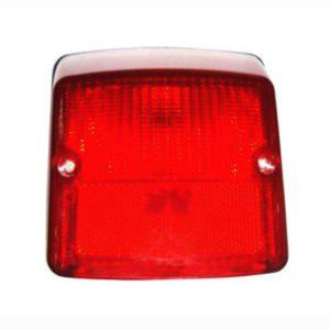 Chromed light lamp rear superior for vespa px125 disc tail