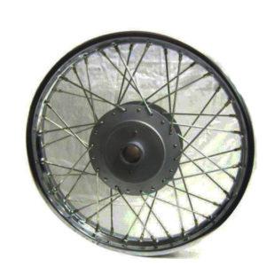 Royal enfield complete rear wheel rim plus hub 141101