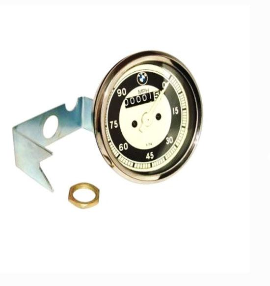 Bmw r25/3 rare replica 0-90 mhp speedometer