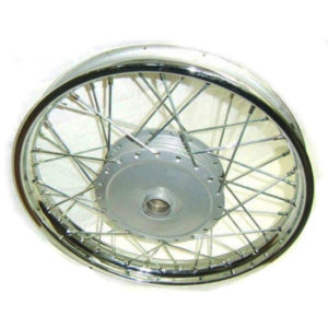 Royal enfield complete front wheel rim with hub 143966