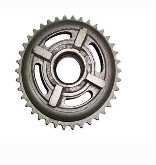 Rear wheel sprocket brake drum