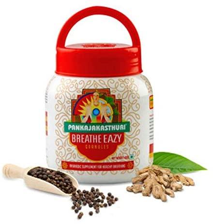 Pankajakasthuri Ayurvedic Breathe Eazy Granules - 400 GM