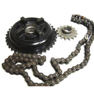Royal enfield 5 speed chain sprocket kit 17 teeth