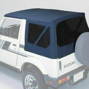 Suzuki Black Soft Top Roof SJ410 SJ413 Samurai Maruti Gypsy King