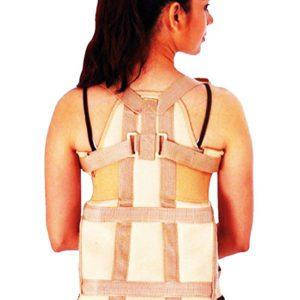 Flamingo dorsolumbar spinal brace/ orthopaedic back support - xl