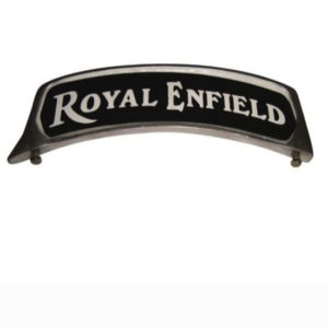 Royal enfield alloy front mudguard number plate customized