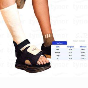 Tynor cast shoe size- xl