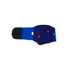Magnetic acupressure fat burner back belly belt with 12 magnets