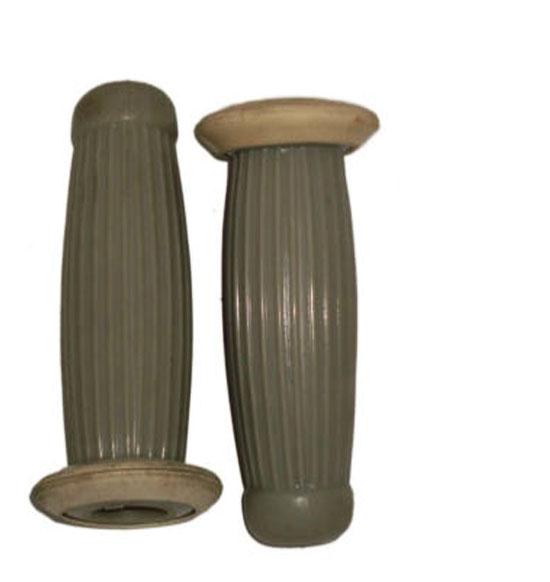 Grey handlebar grip cover set for lambretta s1/s2/s3 models