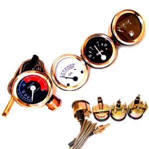 Massey ferguson 135,te20,tea20,ted20,tef20,teo20,to30,to35,f40, mh50 gauges set