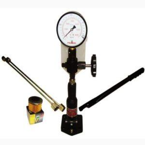 Diesel injector nozzle pop tester glycerin filled dual scale 6000 bar/psi gauge