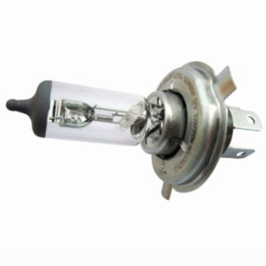 Set of 2 pcs osram sylvania genuine h4 12v 100/90w p43t halogen lamp
