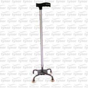 Tynor walking stick quadripod (iso, ce & who certified) - universal