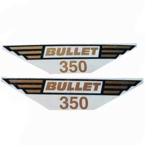 Royal enfield toolbox 350cc sticker set