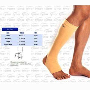 Tynor anti-embolism 15-20 mmhg compression stockings knee - large