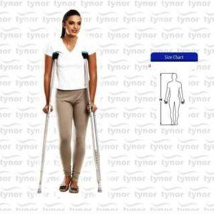 Tynor axillary crutch (pair)  -so, ce & who certified size universal