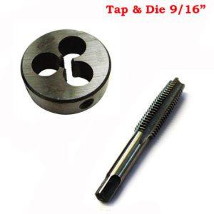 Tap and die size 9/16 british standard whitworth