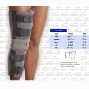 Tynor knee immobilizer 19 brace support alluminium splint-medium