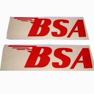 Red colour stickers for bsa a65 a10 b44 b25 a75 models