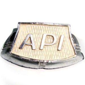 Horncast api badge for early lambretta series 2 model