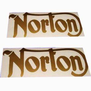 Pair of stickers for norton commando/16h/es2 models