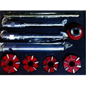 Carbide valve seat cutter 5 cutter set for vintage car & bikes 20 & 45 deg