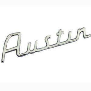 Austin script badge monogram