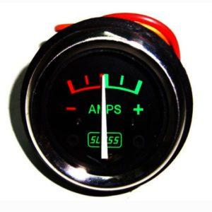 Royal enfield early models 8 amp. Ammeter c/w 6 v bulb