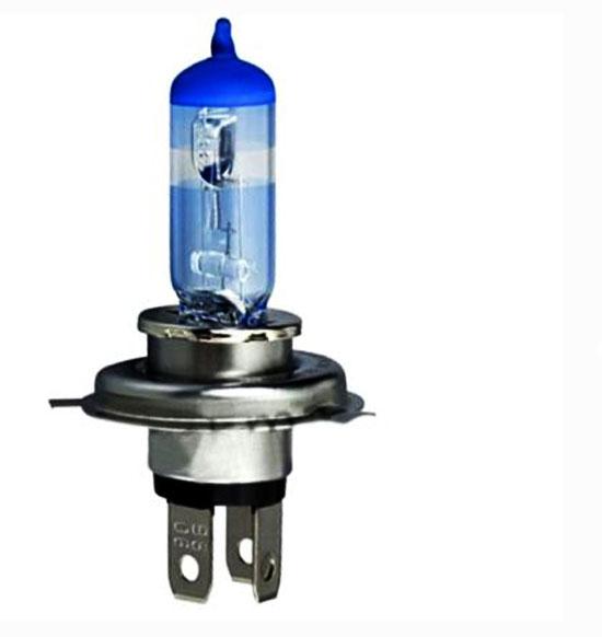 6x h4 12v 60/55w super vision halogen headlight bulb/lamp p43t