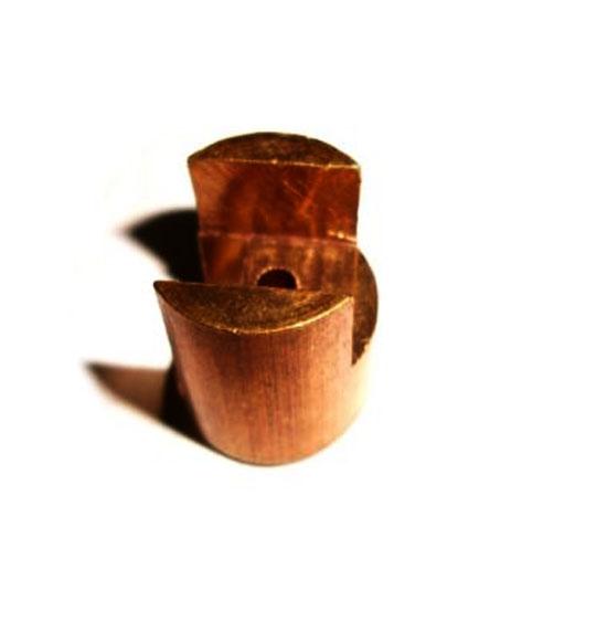Brass clutch & brake cable split nipple for lambretta gp models