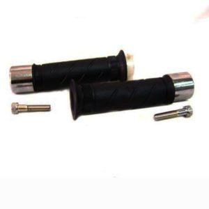 Anti vibration handlebar kit chrome bar ends