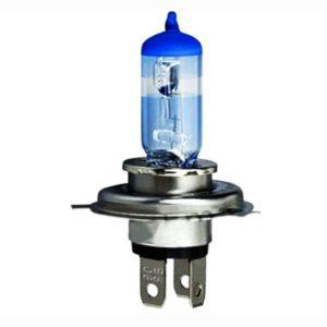 6 pieces pack h4 12v 60/55w super vision halogen bulb/lamp p43t