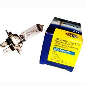 Hella trade pack h7 (10 bulbs) 24v 70w- px26d volvo headlight/truck/buse