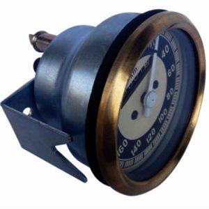 20-200/0-200 kmph vintage bmw black & cream face speedometer