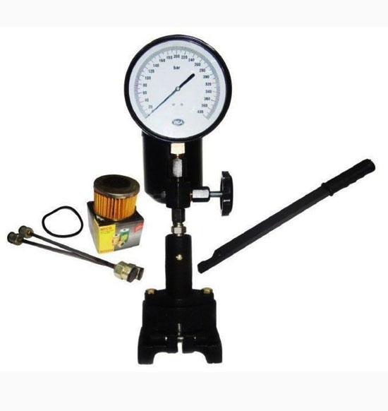 0 - 60 mpa & 0 - 8000 psi diesel injector nozzle pop pressure tester dual scale/ psi gauge