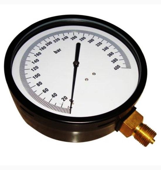 400 bar (dial 150 m.m) nozzle / pop tester pressure gauge