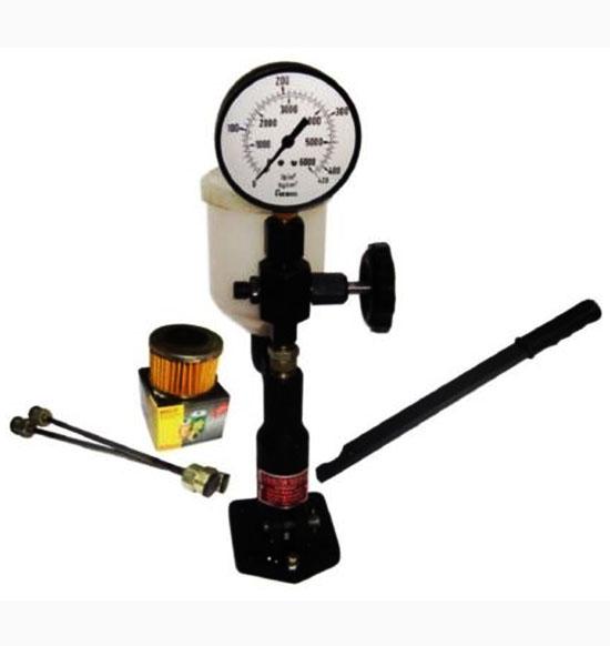 Diesel injector nozzle pop pressure tester dual scale 0-420/ 0-6000