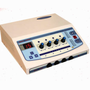 4 channel multi electrotherapy machine multicurrent stimulator pain relief therapy