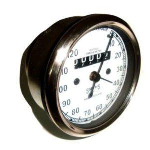 Norton replica smiths speedometer 0-120 mph white face
