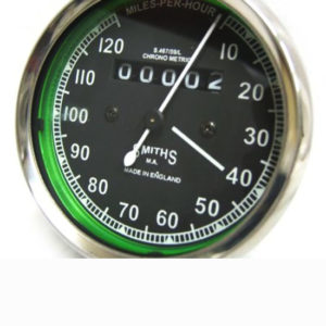 0-120, 0-150 & 0-80 mph replica smiths speedometers for royal enfield