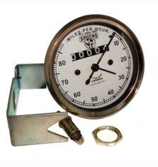 Vintage triumph smiths replica 0-80 mph white face speedometer