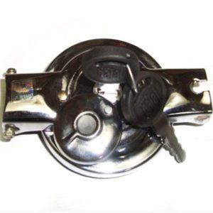 Fuel / petrol tank cap + lock & 2 keys set for vespa p/ px models