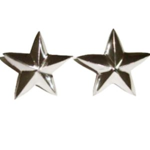 Total 20 pcs pack of chrome star decal for royal enfield bullet