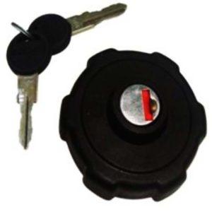 Fuel/petrol tank cap with lock & 2 keys fits vespa bajaj classic /cheta
