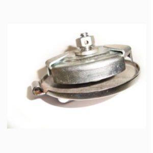Chrome oil tank cap for bsa/norton/triumph